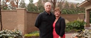 This couple wanted to change the world, but God's plans were a lot closer to home than that Image